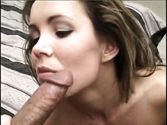 Got her constricted itchy cum-hole reamed hard from behind on bed