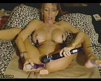 Hot milf extraordinary masturbation
