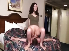 Naughty BBC slut makes his boyfriend glad with facesitting