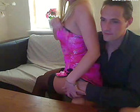 Sultry Danish web camera floozy acquires gangbanged by her paramour