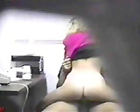My boss caught his slutty wife cheating with me in the office