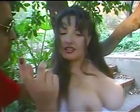 Way over lustful and perverted chick receives gangbanged hard by her ally