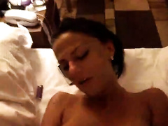 Busty and wild dark brown hotwife would like to engulf and ride