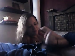 Giving my hawt stylish boyfriend a soothing oral pleasure on livecam