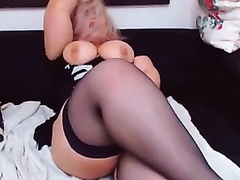 Super sexually excited big beautiful woman shows me her soaked and bulky twat