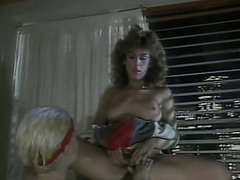 Horny as fuck college wife seduces her marvelous roommate