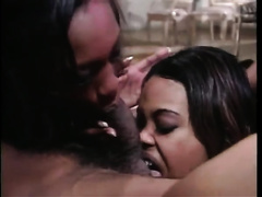 Passionate oral compilation with 3 amazing harlots