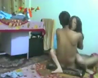 Passionate youthful Indian slutty wife and her boyfriend on web camera