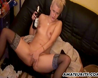 Amateur german girlfriend anal fuck with ejaculation