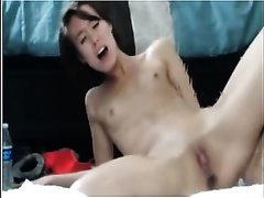 Skinny white sweetheart is truly an outstanding squirter on livecam