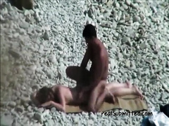 Mature couples on the beach caught on cam doing wicked things