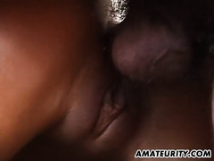 Amateur girlfriend anal fuck with massive facial
