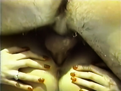 Hot and juvenile white stud feeds breasty milf with his prick