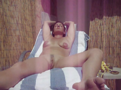 There's no thing like a hawt outdoor masturbation session