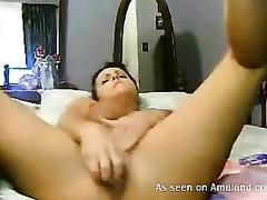 She is also voracious and insatiable in masturbation vid