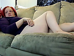 My red haired fat and large bottomed dirty slut wife can't live without when I eat her out