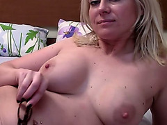 Gotta love MILFs and this cam model is always on fire