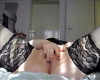 Some dildoing and fingering time of my hawt slutty wife