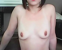 Amateur and skinny French white Married slut shows her bra buddies on livecam