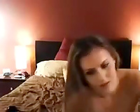 Sweet European perverted girl on livecam fucking like a pro