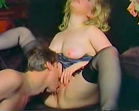 Busty and perverted milf got her twat drilled hard by her recent ally