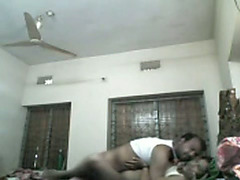 Dark skinned amateur Indian bitchie wifey acquires hammered missionary
