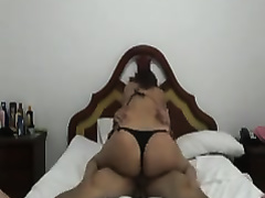 Fabulous anal sex with my lalin girl bootylicious girlfriend