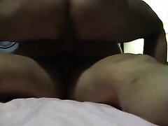 Me and my hommie gives double penetration to horny white wife next door