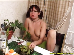 She is so sexually excited but Leona is still gracious for indecent fuck