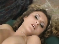 Busty voracious hotwife asked to fuck her from behind in the backyard