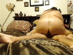 big beautiful woman college slutwife rides her slim boyfriend on top