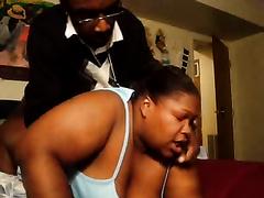 Fat ebony woman raped by the reverend in church