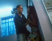 Japanese wife raped by weird man in savage modes