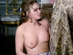 Busty milf forced to have sex with several male