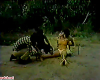 Obedient whore raped by several guys in nasty xxx ritual