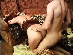 Amateur babe forced to endure cock in both holes by horny bf