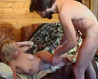 Teen punished by step daddy with a brutal fuck