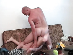 Drunk blonde gets brutally fucked by horny man