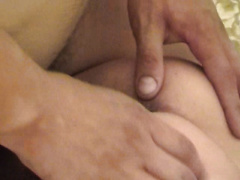 Young brunette raped by two horny males