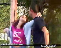 Young amateur gets kidnapped and forced to have sex