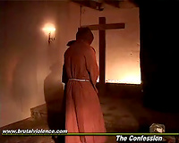 Nuns being raped at the monastery by horny monks