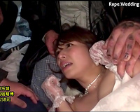 Sexy Asian bride kidnapped and raped in a dirty way by villains