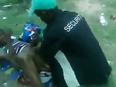 Black wife could not escape from a perverted guy and got raped