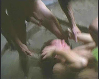 Helpless wife raped by two bastards who took her in their car
