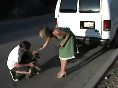 Wife gets kidnapped and brutally raped by two perverts in a van