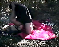 Lonely wife captured and raped by a fat ugly dude in a forest