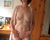 Check out this slutty wife as strip and masturbate she stripping her clothes off and revealing her killer, sexy figure