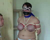 Chubby mature wife abused and raped by a young stud next door