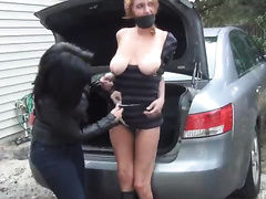 Naive wife got bound and raped by her crazy sister and her girlfriend