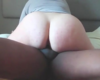 Phatass wife first BBC and creampie in vacation